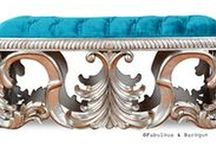 Frenchie Benchies / Who doesn't love a bench?! More room for extra buddies and extra love :) www.fabulousandbaroque.com