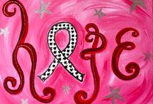 Think Pink - Art Ideas / by scartteacher