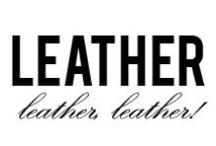 Leather, Leather, Leather! / Our Favorite leather looks for this season. Were talking about more than just leather jackets here....