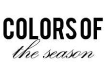 Colors of the Season / The hottest colors of the season