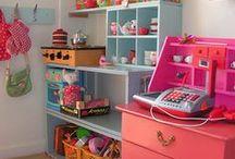 Kids Room Inspiration / playroom ideas | kids bedroom ideas | kids decor | toy organization | playroom decor