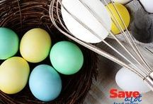 Easter / Delicious Easter recipe ideas, perfect for both a small group or a big crowd!