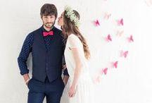 Mariage / Toutes nos inspirations pour votre mariage : conseils et bons plans, trouver sa robe de mariée, des idées de coiffure, de maquillage et d'accessoires, des astuces de décoration de table, de fleurs...