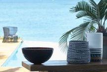 Inspiration plage & vacances / L'eau, le sable, la tranquillité et la douceur de la mer.. Inspiration, idées et déco pour un intérieur qui vous fera voyager.