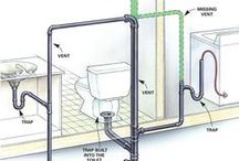 Projetos banheiros / projetos com medidas e posições