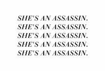 * au, soft / rough. / cosette thénardier, assassin based les misérables.