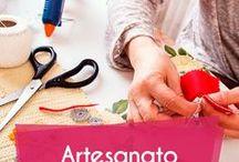 Artesanato / Dicas de artesanato. Faça você mesma! #artesanato #diy #craft #feitoamao #artesanal #lembrancinhas #artes