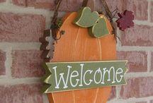 Fall crafts / by Shyla Taylor