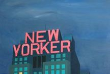 My paintings - New York City Blues / Inspired by New York, the signs of people, the atmosphere...