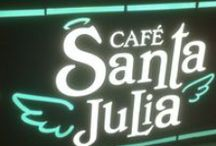 Coffee Shop Santa Julia / Puff Pastries, Cakes, Sandwiches Tea and a... Heavenly coffee. Nice Atmosphere! Great food at fair prices. Lunch too