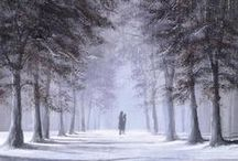Jeff Rowland's romantic art. / Such atmosphere in these paintings.