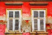 Windows and shutters / by Bea Sebestyen