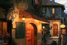 Art glow, Eugene Lushpin / Magical night art