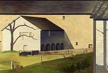 Charles Sheeler Art / A master of architectural light and shade portrayal.