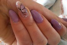 unghie..mie creazioni! ♥