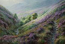 Rex Preston British landscape artist / Landscapes to dream of.