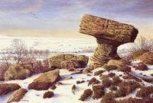 Keith Melling art / British landscape artist Keith Melling's beautiful work.