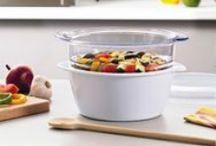 Cocina/cuisine/Kitchen / Una cocina sin plástico para una alimentación más saludable.  Plastic-free kitchen for healthy food. La cuisine sans plastique