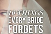 Wedding Tips... / We deal with anxious brides and grooms to be all the time and wedding planning can be a real minefield! Here are a selection of some of the best tips for a stress-free wedding!