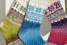 sokker / strikking