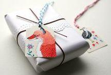 PRETTY PACKAGING // Pięknie opakowane / Pretty packaging ideas for homemade gifts // Pięknie pakowane prezenty