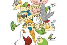 papoušci - animace