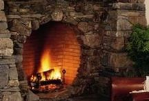 Cozy fireplaces / by chrissy s