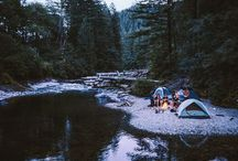 Camping and fishing / by chrissy s