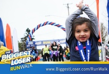 Kid's Race / Each Biggest Loser RunWalk 5K, 10K, 15K and Half Marathon for adults, has a Kids Fit One Mile Fun Run for children (ages 4-12). All participating children receive a cool The Biggest Loser RunWalk t-shirt and finisher's medal!