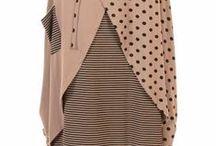 SKIRTS / Women's lagenlook skirts available at www.idaretobe.com