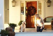 Outdoor decorations / Front door and front yard decorating tips and tricks.