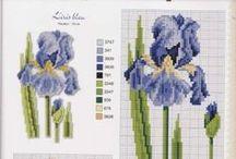 Hobby embroidery flowers / by Karla van Baarle