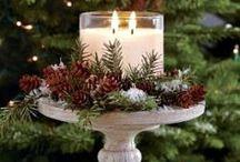 Kreativt med blomster (jul)