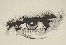 Drawing eyes ref