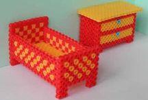 Hobby hama beads 3D / by Karla van Baarle