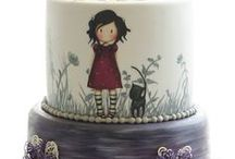 maľovaná torty