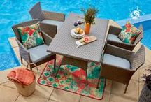 New Outdoor Collections 2015 / Spring and Summer are almost upon us and now is the perfect time to start preparing your home for outdoor entertaining!