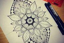 henna and mandalas