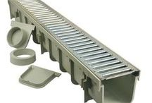 Channel & Trench Drain Kits / Pool, Patio & Driveway Trench Drain Kits