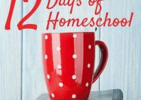 12 Days of Homeschool Christmas / Resources to supplement my 12 Days of Homeschool Christmas blog series