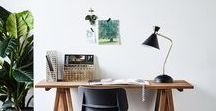 Home Office Oasis / Home offices are a vital part of the mix when it comes to planning the flow and feel of interior spaces so here's some inspiration for creating the perfect workspace.