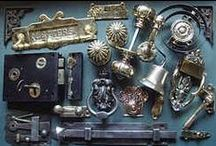 Antique Door Fittings / The Victorian Ironmonger specialises in quality, hard to find original reclaimed antique door furniture and architectural fittings for period houses such as:-  Victorian door furniture - antique door knobs & handles - old door locks - antique door bells - antique door knockers - antique letter boxes - antique coat hooks - old door bolts - antique door hinges -  antique thumb latches - bathroom fittings - fingerplates escutcheons -  cupboard cabinet fittings - window fittings -