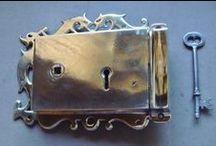 Antique Door Locks / Restored original antique door locks for sale online
