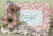 Heartfelt Creations Inspiration / Wonderful Inspiration using stamps, dies and papers from Heartfelt Creations.
