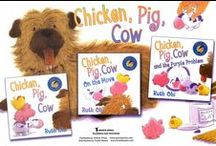 """The World of """"Chicken, Pig, Cow"""" / Crafts and creations by readers of the """"Chicken, Pig, Cow"""" series.  For more ideas and pdf printables visit www.RuthOhi.com"""