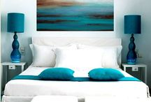 Home decor and colours I love / Colours, textures and forms I love