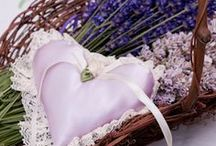 Lavender - Sachets / Place one in your lingerie drawer, sweater drawer or chest, t-shirt drawer and special comfort drawer where you place items that will make you smile.Tuck a sachet inside your pillow case to give it the sweet floral scent of lavender. Surprise your house guests and place a sachet on each of their pillows to make them feel welcome and encourage rest and relaxation. They also make beautiful favors for weddings and showers. And they are a healthy alternative to toxic moth balls.