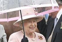 Queen Elisabeth II-umbrellas