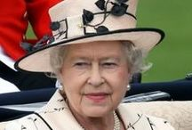 Queen Elisabeth II - Black and White Style