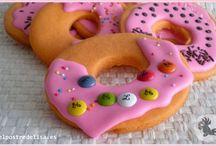 El postre de Lisa Cookies / Galletas decoradas